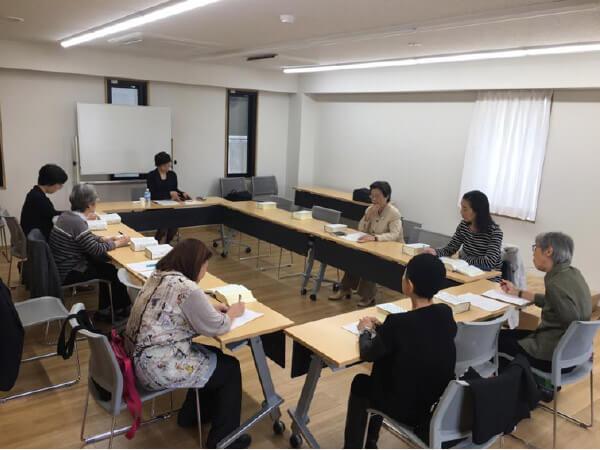 写真 武田なほみさんの講座風景