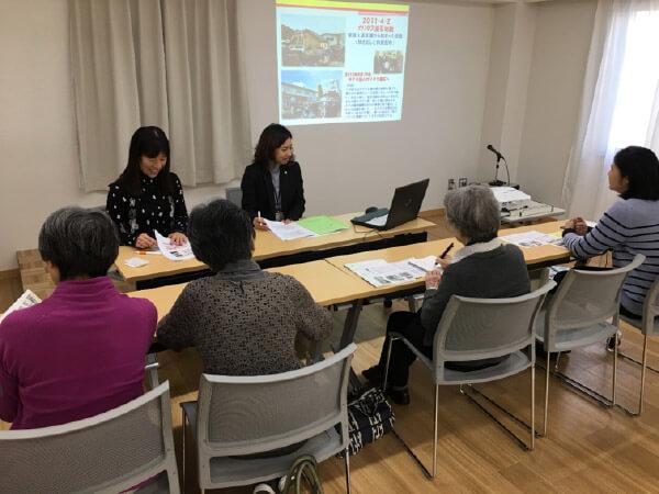 写真 伊瀬さん今村さんの講座風景